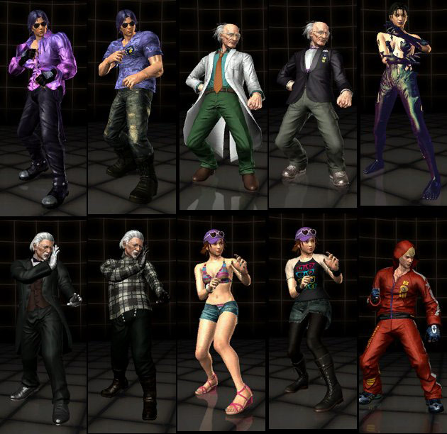 You may want to see this photo of tekken tag 2